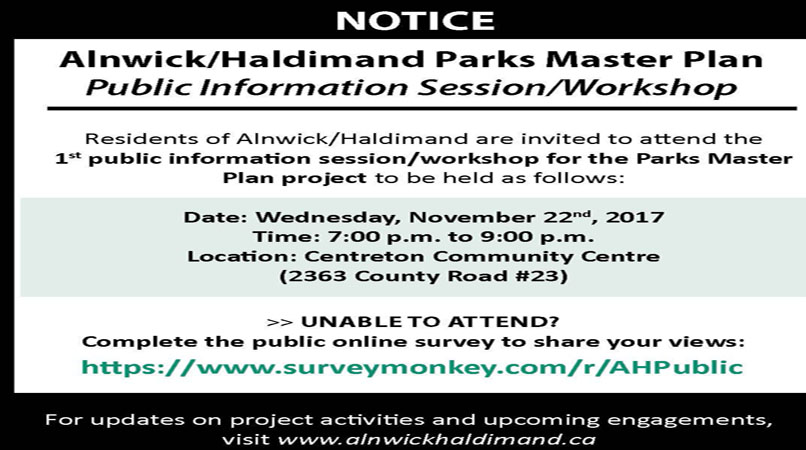 AH WORKSHOP PARKS REC NOV 22 CENTRETON