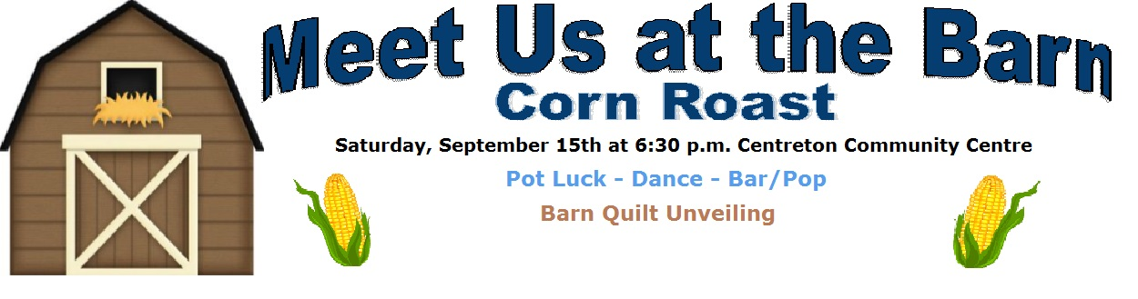 Centreton Barn Corn Roast Sept 15 at 6:30 pm