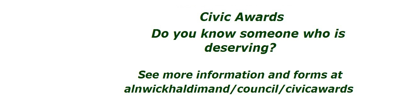 2019 Civic Awards do you know someone deserving?