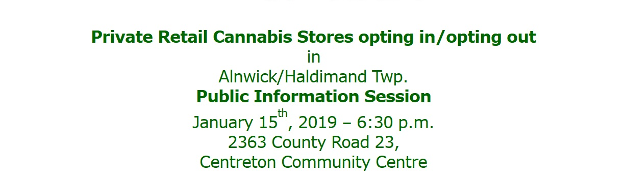 Info Session Cannabis A/H Opting in or out