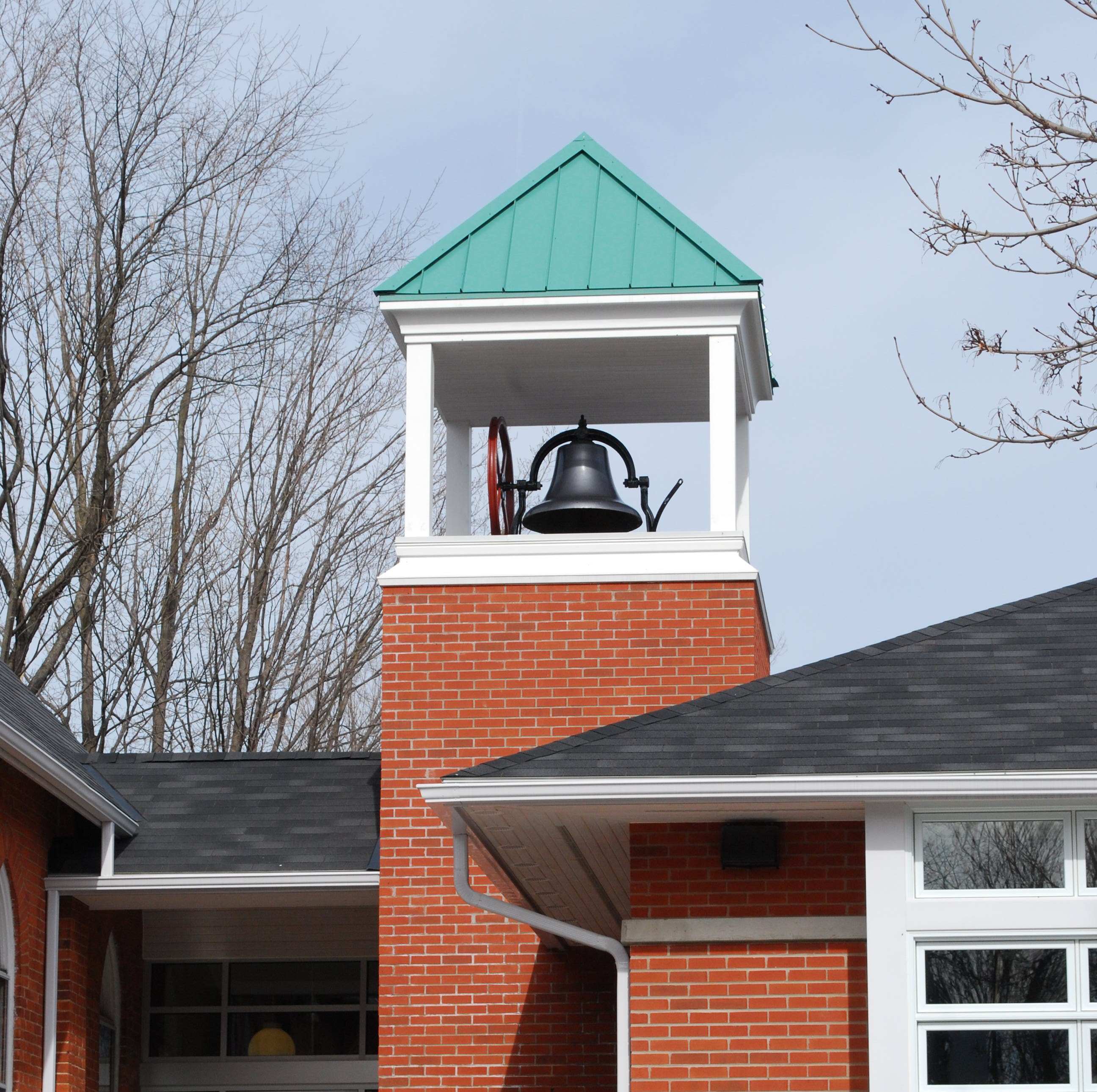 Centreton Community Hall bell tower