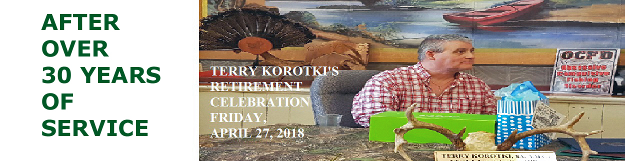 Terry's Retirement Celebration April 27 2018