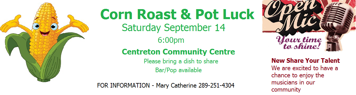 Corn Roast at Centreton Community Centre