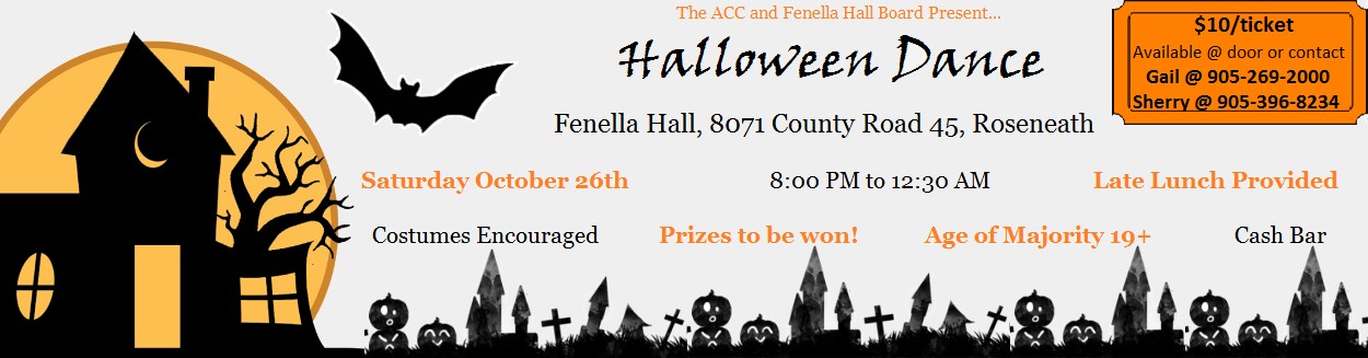 Fenella Hall Halloween Dance