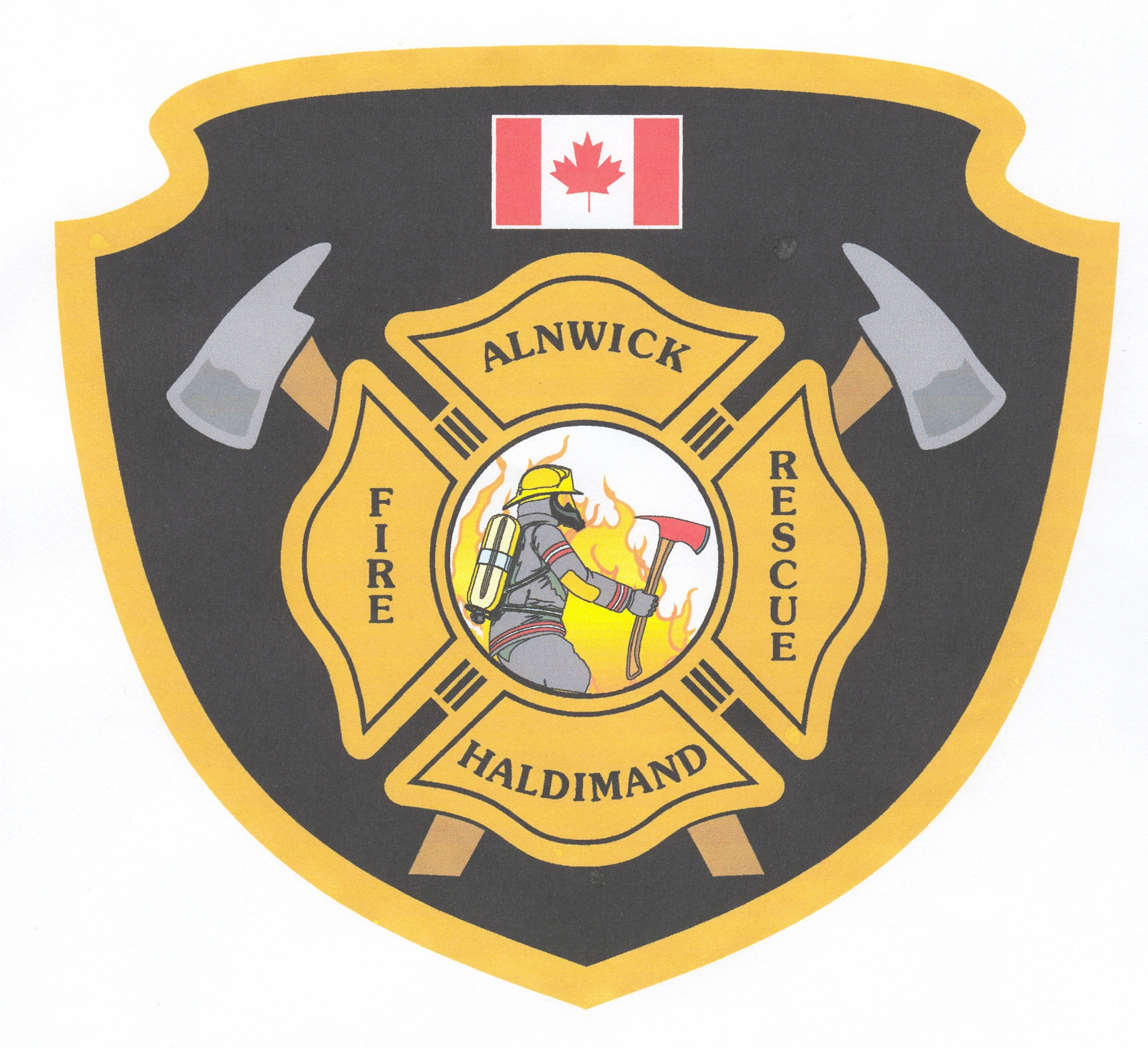 Alnwick Haldimand Fire Rescue Logo