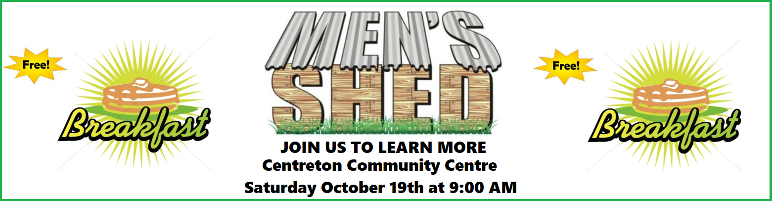 Men's Shed Free Breakfast