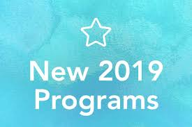 New 2019 Adult Programs